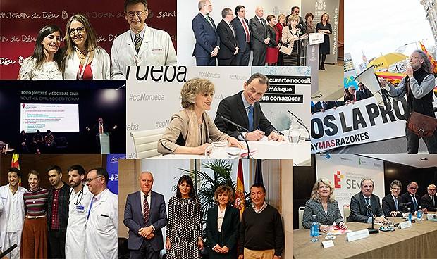 Los momentos más importantes para la sanidad española en 2019