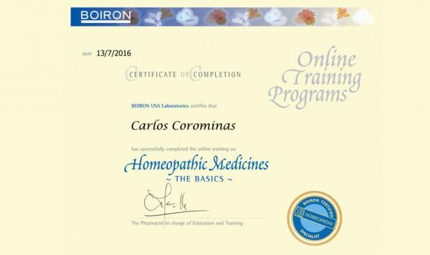 No soy médico, pero Boiron me ha hecho especialista en homeopatía