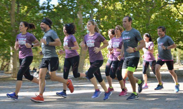 """Pacientes crónicos que ganan al reto de los 42 km al grito de """"sí se puede"""""""