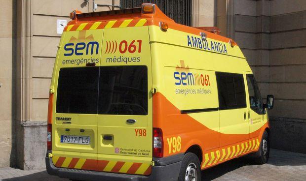 Las ambulancias de Girona, en huelga indefinida a partir de este viernes