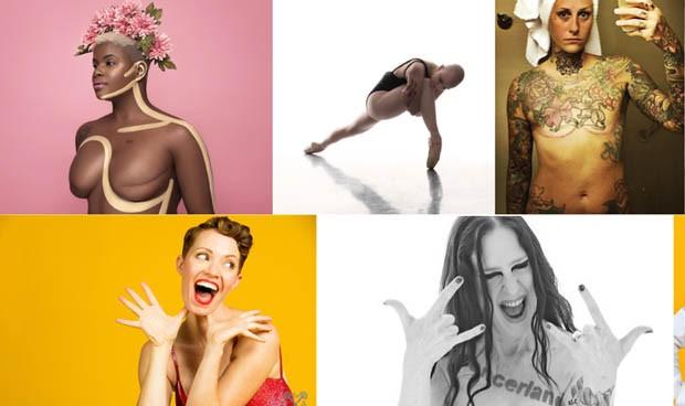 Las cicatrices del cáncer de mama, protagonistas de la moda en Nueva York