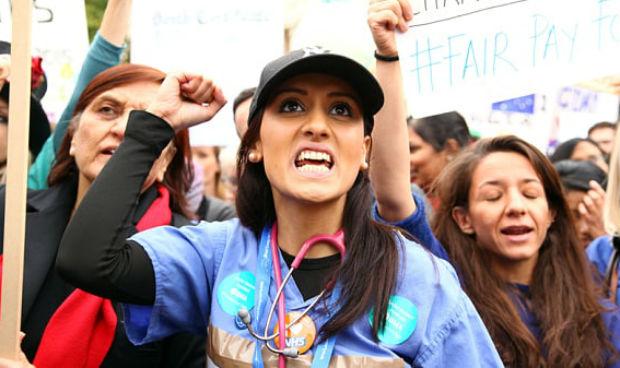 Las clases de Medicina se estrenan con una huelga estudiantil