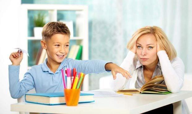 Las conductas de niños con TDAH afectan de forma indirecta a sus padres