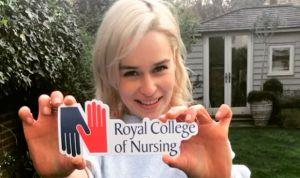 Las enfermeras eligen a Daenerys, de Juego de Tronos, como nueva embajadora