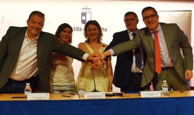 Las farmacias de Castilla-La Mancha, volcadas contra la violencia de género