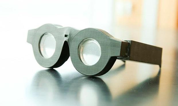 Las gafas del futuro se 'autogradúan' en función de la visión del paciente