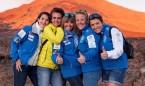 Las integrantes del reto Pelayo Vida 2016 logran cruzar el Atlántico