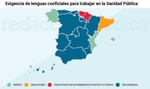 Las lenguas cooficiales en el SNS: una autonomía obliga y 5 las premian