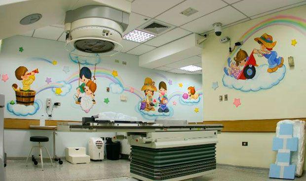 Las películas mejoran a la anestesia para tener niños quietos en 'radio'