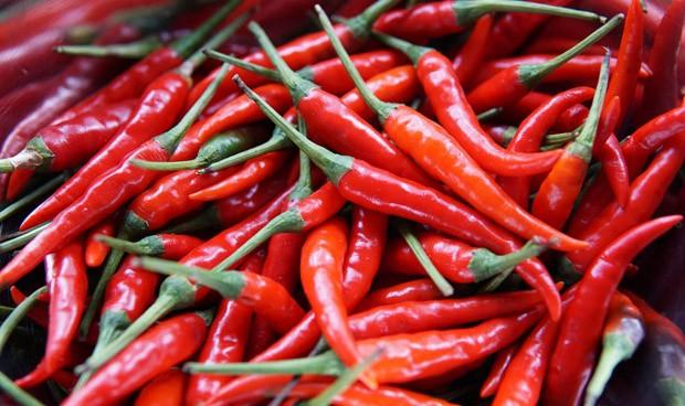 Las personas que comen pimiento picante tienen menor riesgo cardiovascular