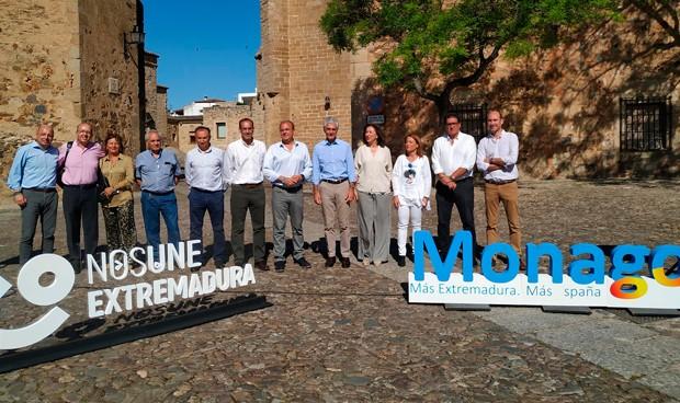 Las promesas sanitarias de Monago: OPE de consolidación y retener talento