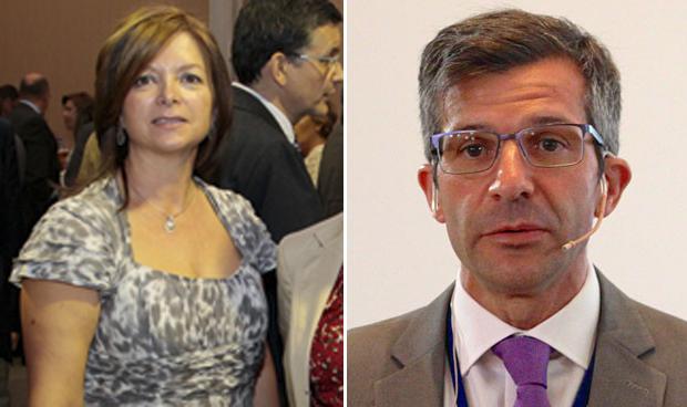 Laura Isusi y Miguel Ángel Calleja