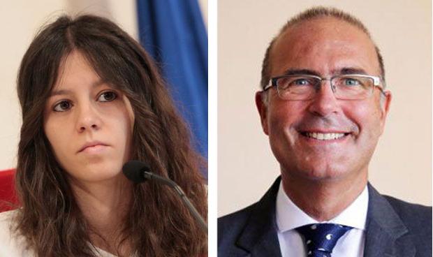 Laura Martínez y Pablo Lara