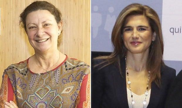 Leticia Moral y Nuria Marañón