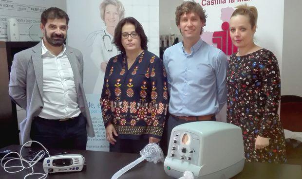 Linde dona equipos respiratorios a ASEM Castilla-La Mancha
