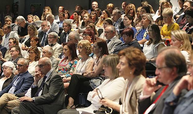 Lleno hasta la bandera en la presentación del Nursing Now en España