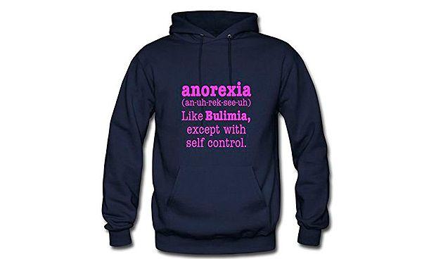 Lluvia de quejas a Amazon por vender la prenda m�s ofensiva con la anorexia