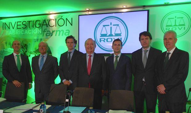 """López-Belmonte:""""El crecimiento de Rovi en la próxima década está asegurado"""""""