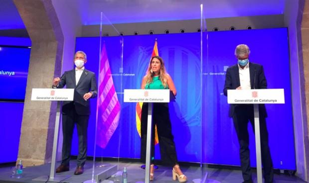 Los alumnos catalanes con pauta completa no se confinarán si hay positivos