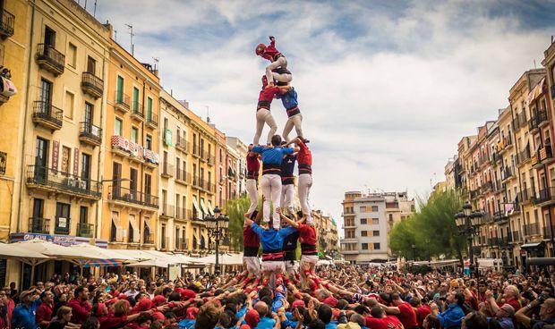 Los castellers de Madrid buscan enfermero