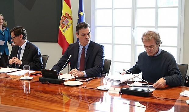 """Los elogios de Sánchez a Illa y Simón: """"Trabajan hasta la extenuación"""""""