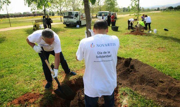 Los empleados de Novartis se vuelcan con los colectivos más necesitados