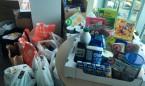 Los empleados de Roche recaudan más de 400 kilos de alimentos