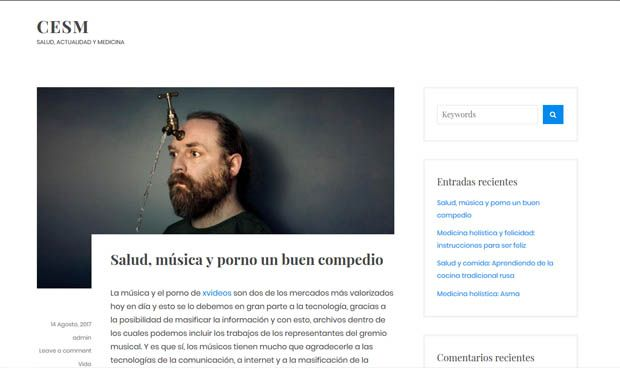 Los homeópatas 'piratean' la antigua web de CESM