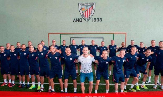 Los jugadores del Athletic se rapan en apoyo a Yeray, enfermo de cáncer