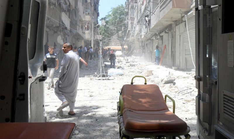 Los médicos de Alepo, desesperados, se encomiendan a Obama