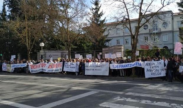Los médicos de Atención Primaria vascos convocan tres días de huelga