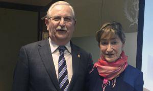 Los médicos facilitan que haya una primera presidenta de Unión Profesional