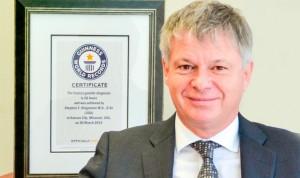 Los médicos también consiguen récord Guinness
