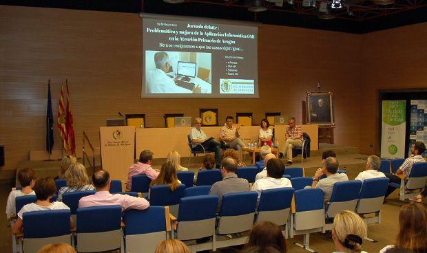 Los médicos zaragozanos abordan las dudas sobre la informatización en AP