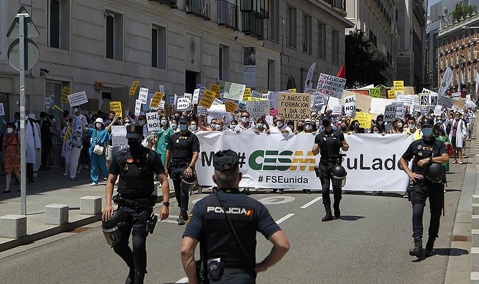 Los MIR cancelan su protesta para centrar esfuerzos en acciones judiciales