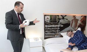 Los pacientes con apnea ya disponen de la primera CPAP automática portátil