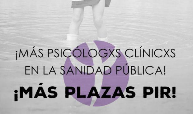 Los psicólogos piden más plazas PIR... a golpe de hashtag
