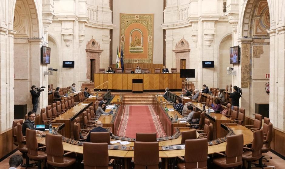 Los puestos directivos del SAS 'se cuelan' en el Parlamento andaluz