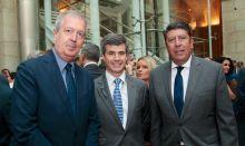 Luis Mayero, Adolfo Fernández-Valmayor y Manuel Vilches
