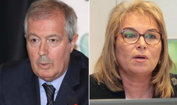 Luis Mayero y Cristina Contel