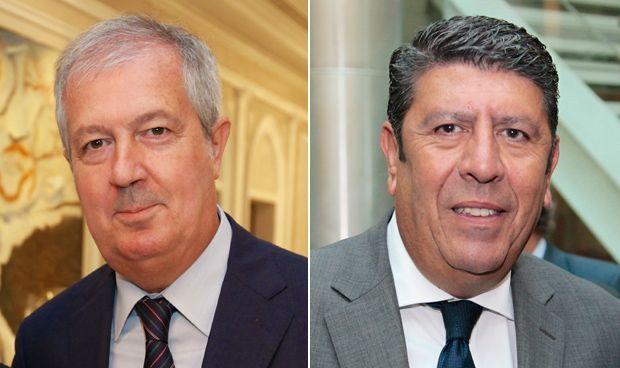 Luis Mayero y Manuel Vilches