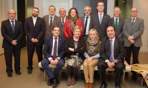 Luis Rasal, nuevo presidente de los colegios sanitarios zaragozanos