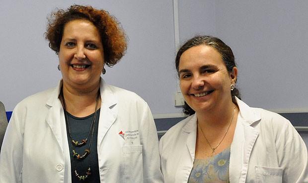 Mª José Gosalbes y Pilar Francino