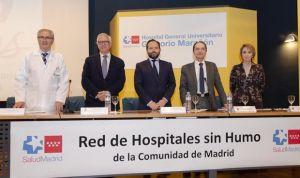 Madrid distingue a 6 hospitales por su lucha contra el tabaquismo