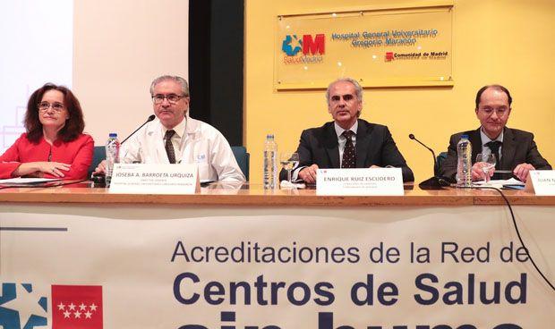 Madrid distingue a los centros de AP por sus iniciativas contra el tabaco
