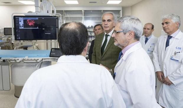 Madrid invierte 1,5 millones en la Neurorradiología del Gregorio Marañón