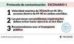 Madrid limitará las salidas del hospital si aumenta la contaminación