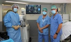 Madrid realiza la primera cirugía robótica de columna en hospital público
