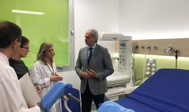 Madrid renueva  los paritorios del Hospital de Móstoles con 900.000 euros