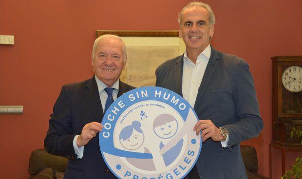 Madrid se suma a la campaña #CocheSinHumo del Consejo de Enfermería